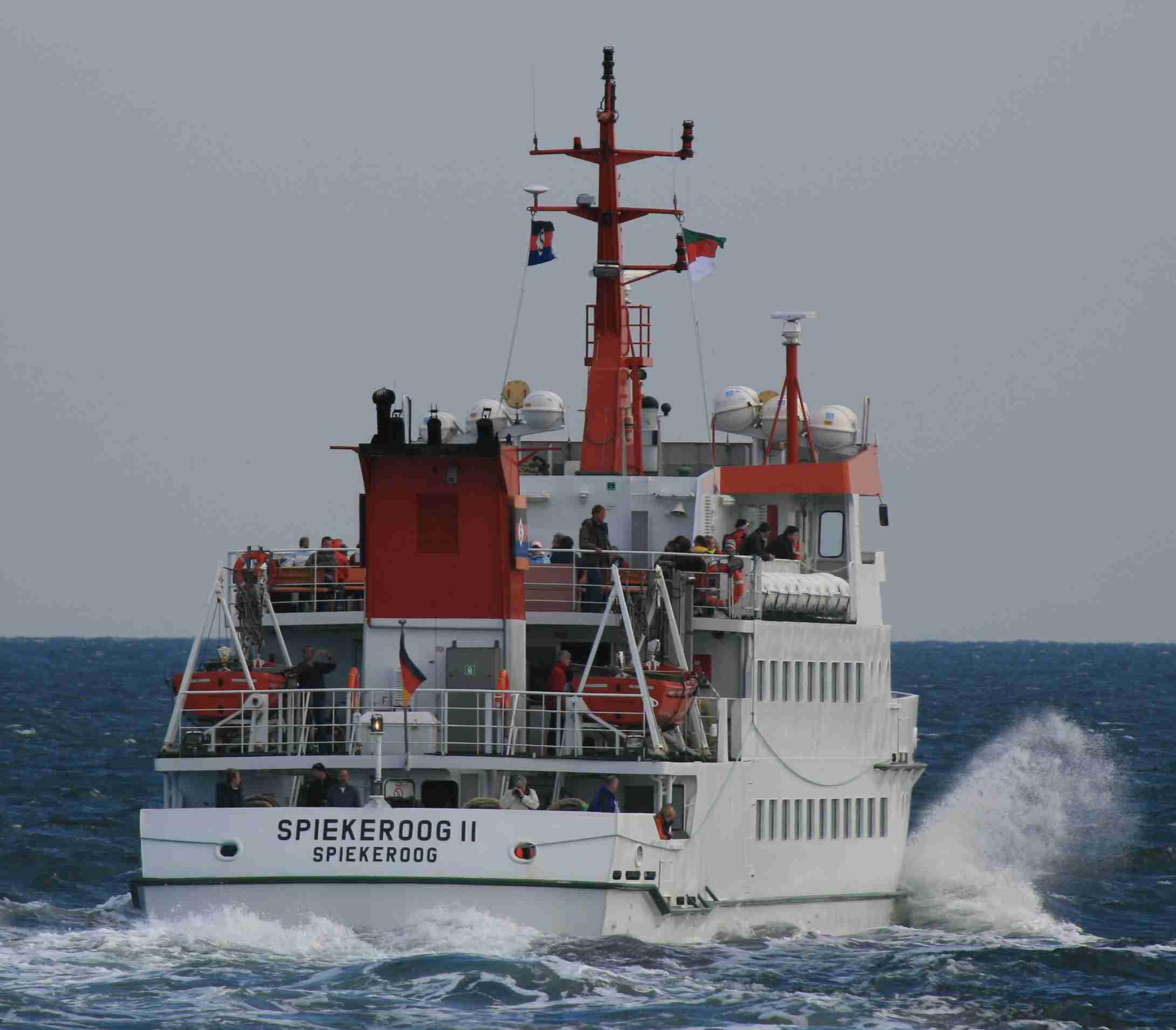 Seeb derschiffe im helgolanddienst 2007 2 halbjahr - Deichblick spiekeroog spiekeroog ...